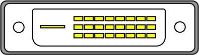 DVI-D с поддержкой режима DUAL LINK