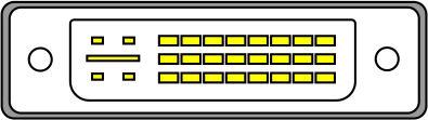 DVI-I с поддержкой режима DUAL LINK