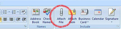 Attach a file