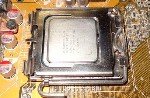 Процессор. Чистка от термопасты
