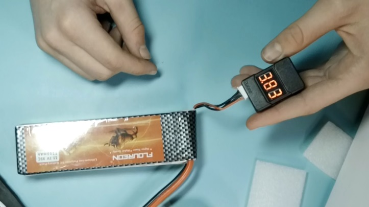 Проверка LiPo аккумулятора после покупки